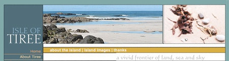 Tiree Web Site
